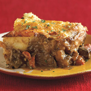 Shepherd's Pie with Parsnip Topping