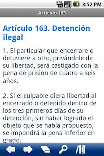 Spanish Penal Code - screenshot thumbnail