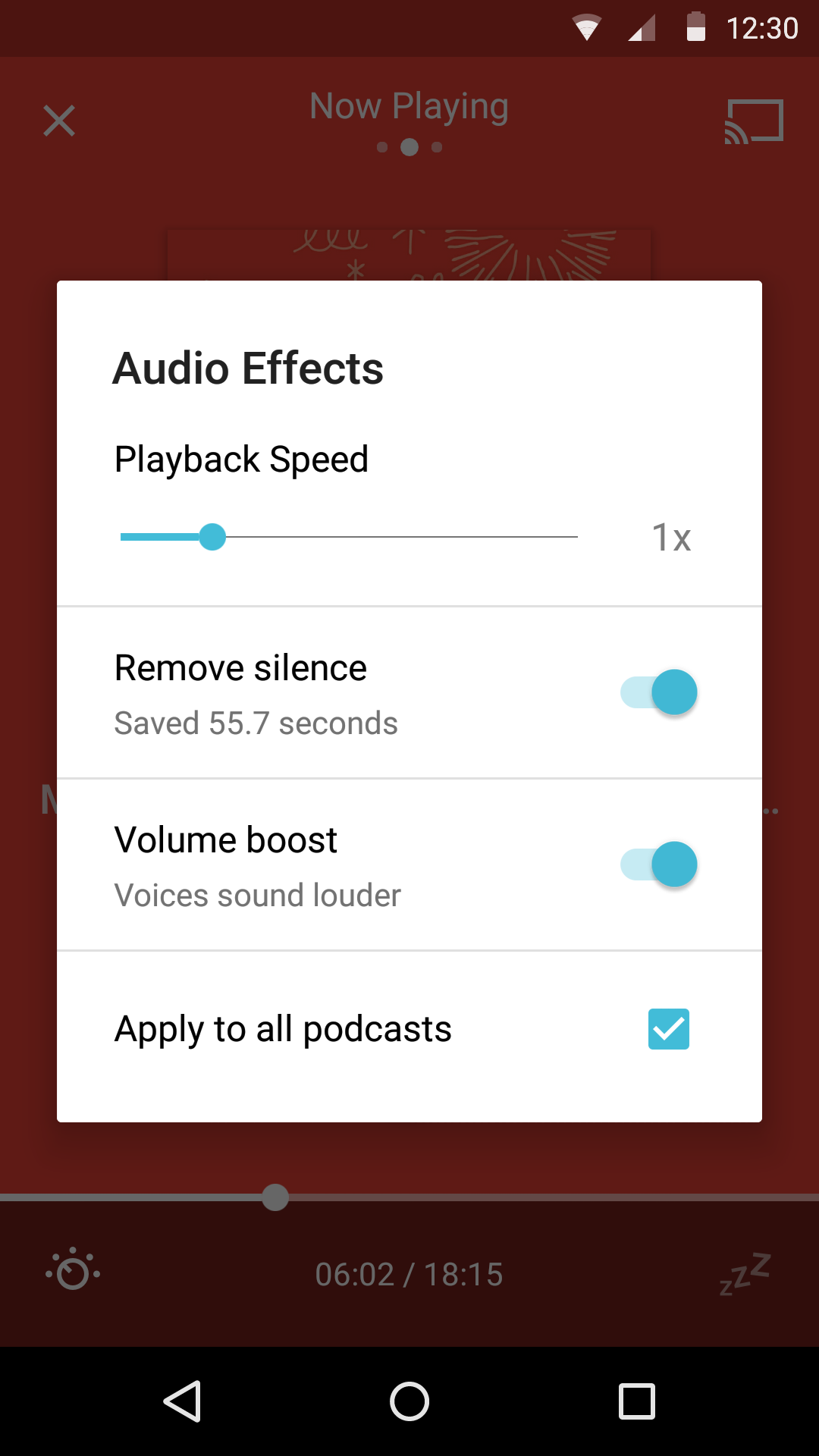 Pocket Casts screenshot #8