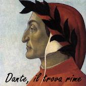 Dante, il trova rime