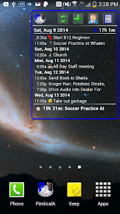 Pimlical Calendar Widget- screenshot thumbnail