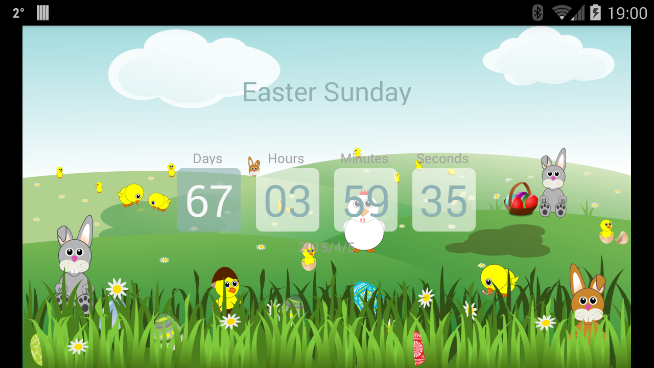 how many days until easter sunday this is your easter UQcBOCpA