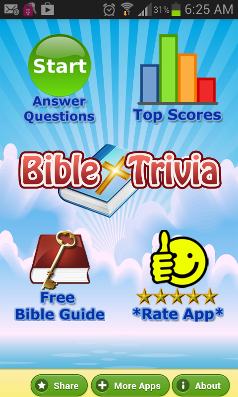 Bible Trivia Quiz Free Bible G - screenshot