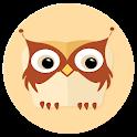 Flaty Owlie (flat wallpaper)