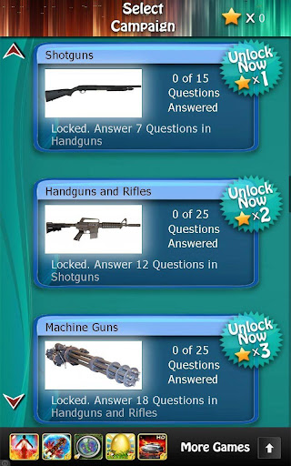 Weapons and Firearms Quiz HD