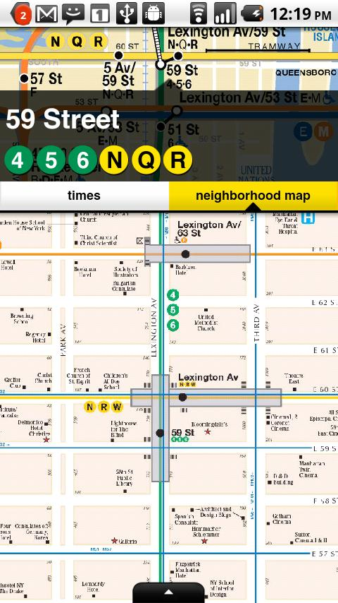 NYCMate (NYC Bus & Subway)- screenshot