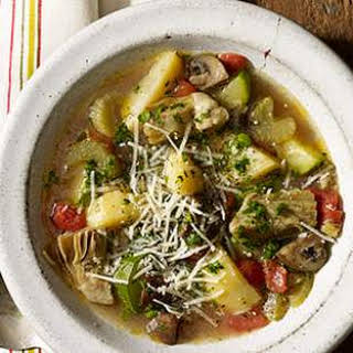 Baked Vegetable Soup.