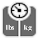 Pounds to Kilograms Converter icon