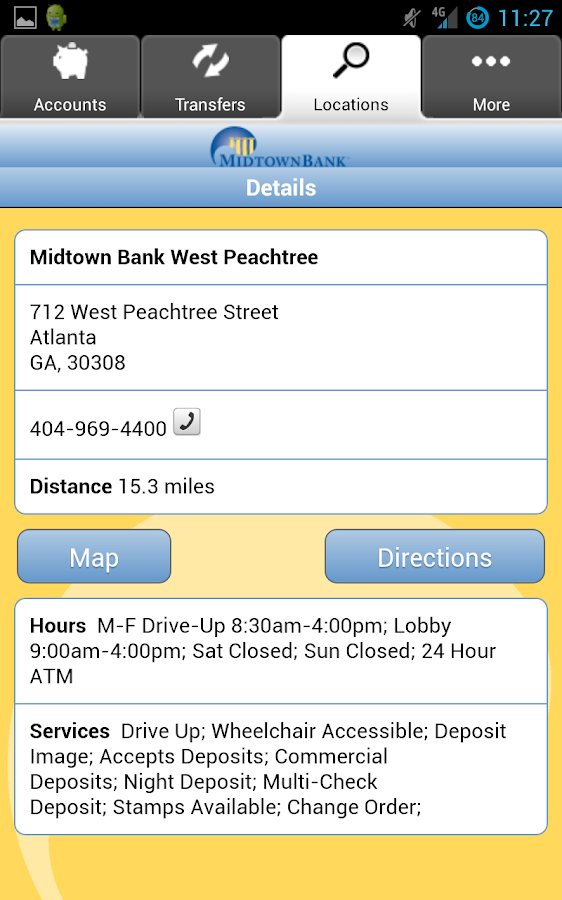 Midtown Bank Mobile Banking - screenshot