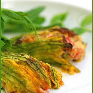 Stuffed Zucchini Flowers Vegetarian Recipes.