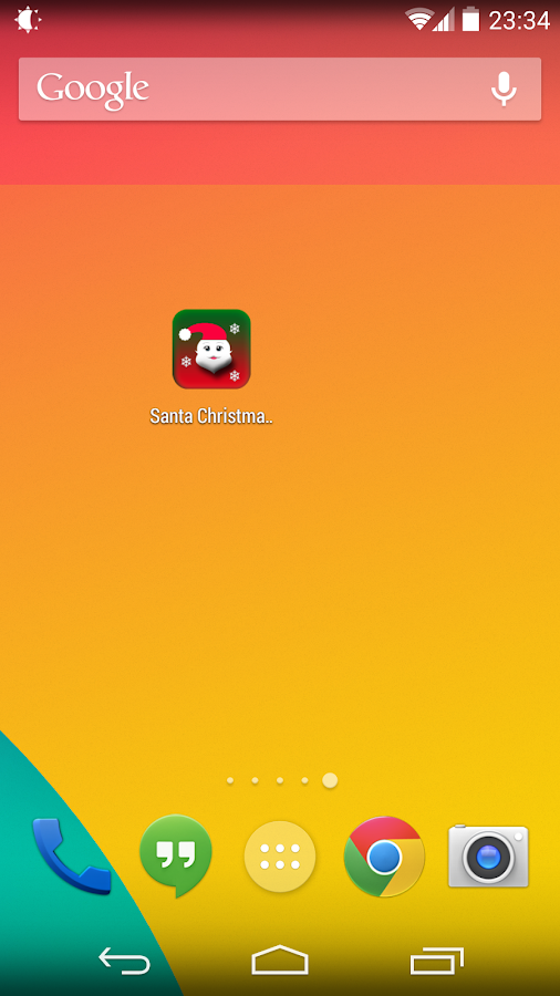Santa Christmas Fart - screenshot