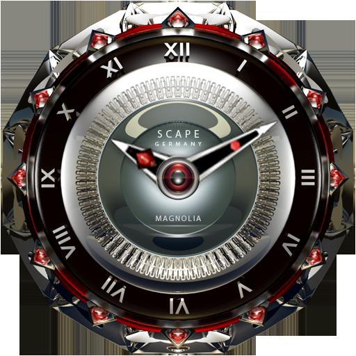 MAGNOLIA Luxury Clock Widget