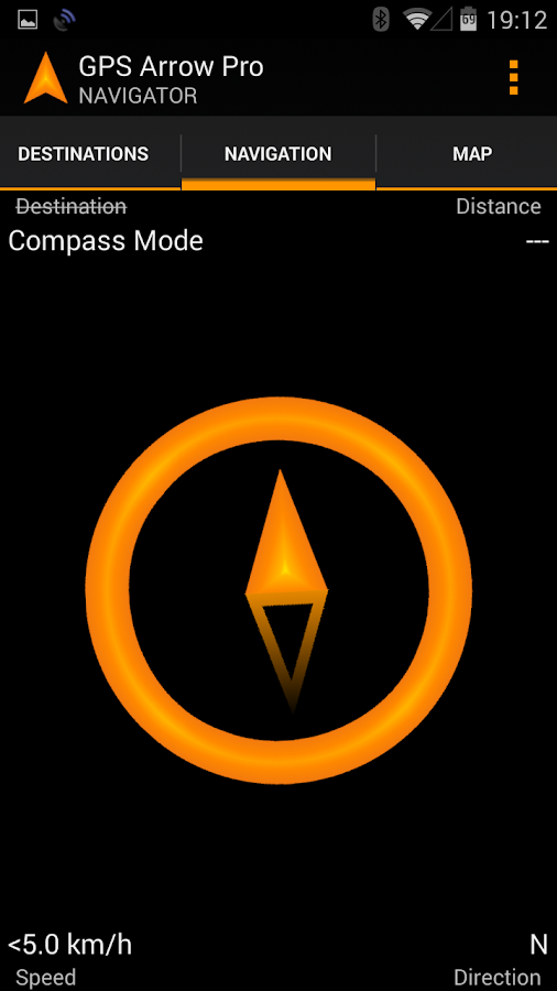 GPS Arrow Navigator PRO- screenshot