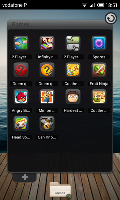 TSF Shell Perfect Theme HD - screenshot