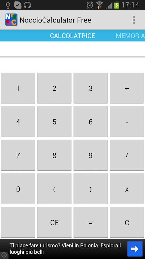 Noccio Calculator- screenshot