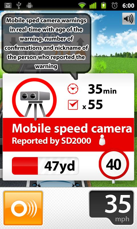 Speed Cams Wikango HD v4.3.2- screenshot