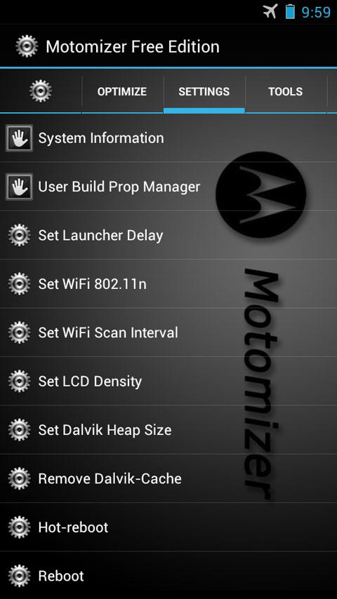 Motomizer Free Edition - screenshot