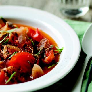 Tomato and Tarragon Bread Soup