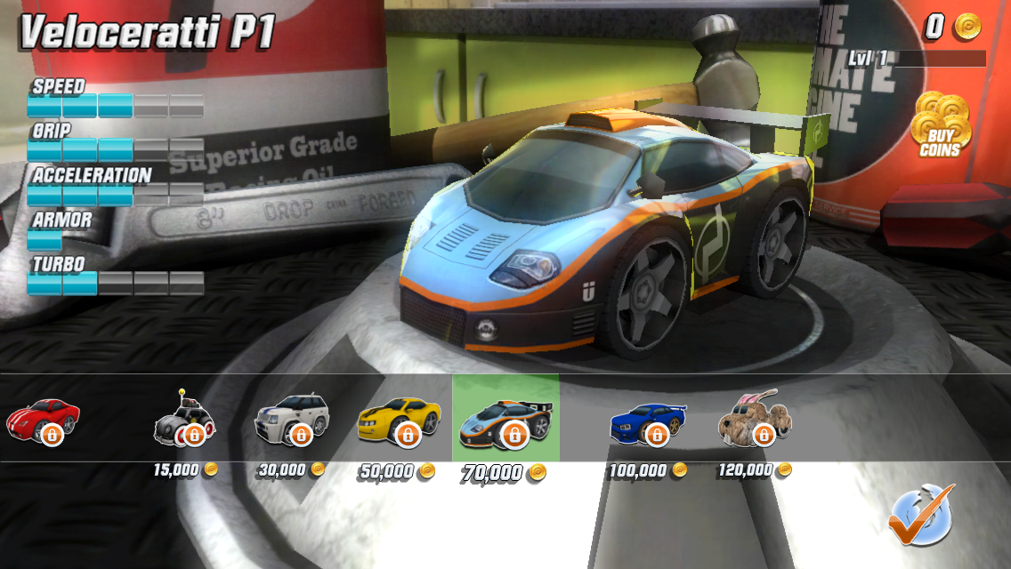Table Top Racing Free screenshot #5