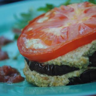 Eggplant Ricotta Stacks