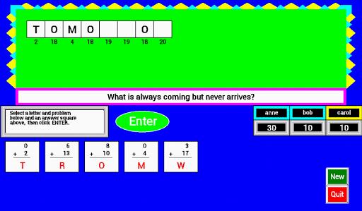Math Galaxy Whole Riddles