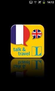 French talk&travel- screenshot thumbnail
