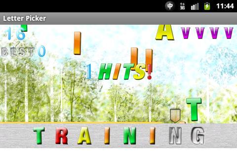 Letter Picker - screenshot