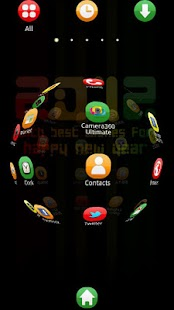 Color2012 Theme GO Launcher EX - screenshot thumbnail