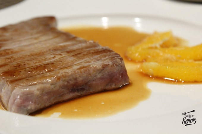 Tuna Steak with Soy Sauce and Orange Recipe