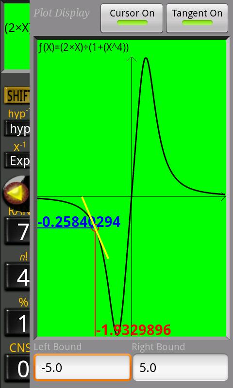 Mathex Scientific Calculator - screenshot