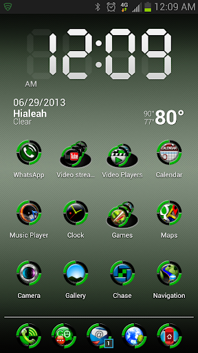 HD Icons: Green Bio-Sphere