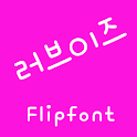 M_Loveis™ Korean Flipfont icon