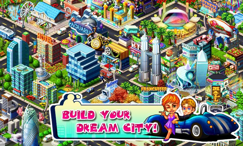 X City - Build your dream city - screenshot