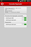 Screenshot of Assistência Técnica Vodafone