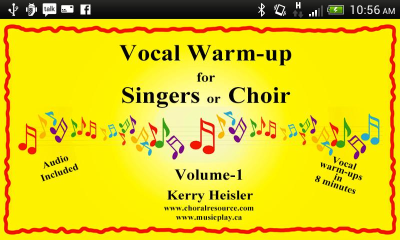 Vocal Warmups Singers or Choir- screenshot