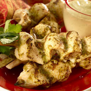 Speedway Spiced Chicken Skewers.