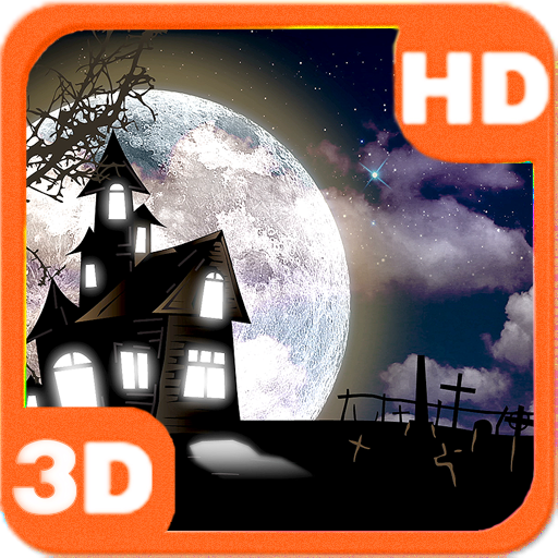 Haunted House Full Moon Bats app for Android