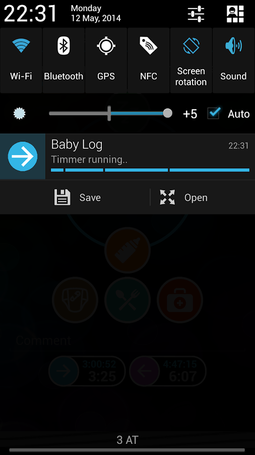 Baby Log - Breastfeeding amm- screenshot