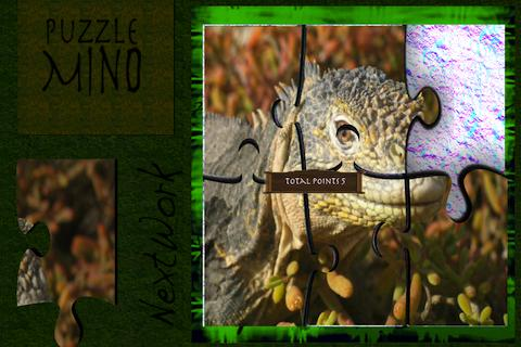 PuzzleMind Iguana HD - screenshot