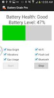 Screenshot of Battery Drain Pro