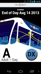 TriMet Tickets - screenshot thumbnail