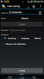 Fake Call & SMS & Call Logs- screenshot thumbnail