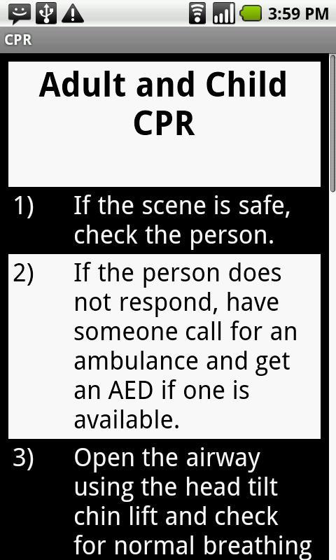 CPR- screenshot
