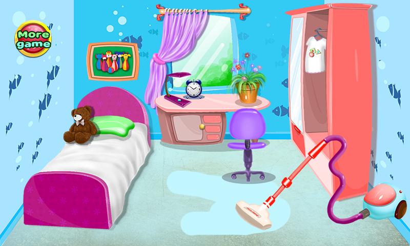 Juegos de limpieza para ni as aplicaciones android en - Como se limpia una casa ...