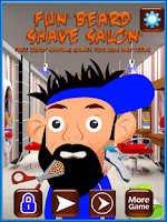 Screenshot of Beard Shaving Salon