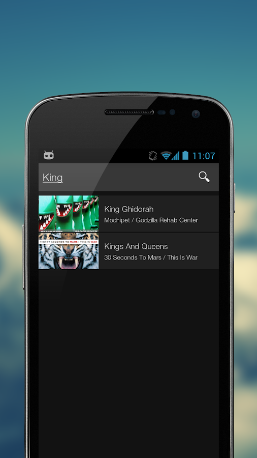 Echo Music Player - screenshot
