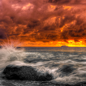 Overflow by Lawrence Chung - Landscapes Sunsets & Sunrises (  )