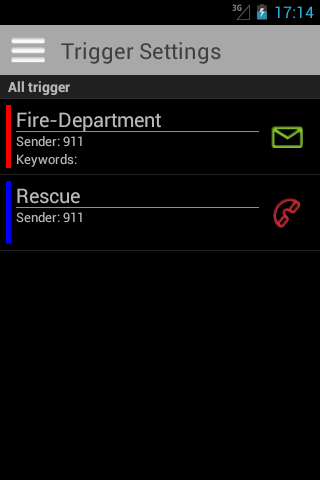 FireAlert 2 - screenshot