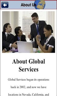 Global Services - screenshot thumbnail
