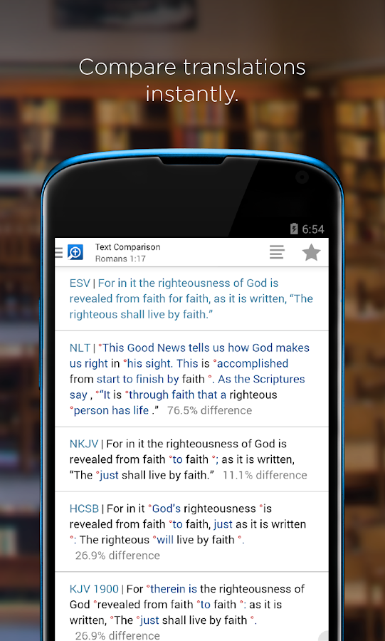 Logos Bible- screenshot